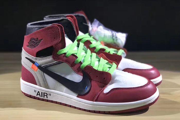 Off White X Air Jordan 1 Collaboration Surfaces2