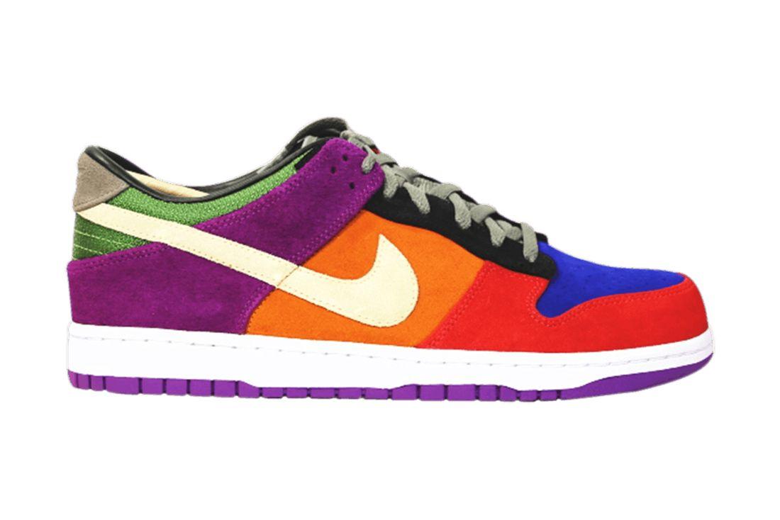 Dunk Retro Viotech Nike Colourway Corral Feature