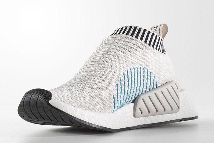 Adidas City Sock Nmd 2 Pearl Grey White 5