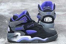 Ewing Athletics Ewing Rogue Black Purple Thumb