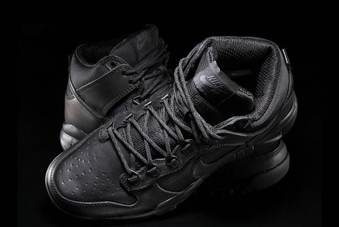 Nike Sb Dunk Hi Boot Black 4