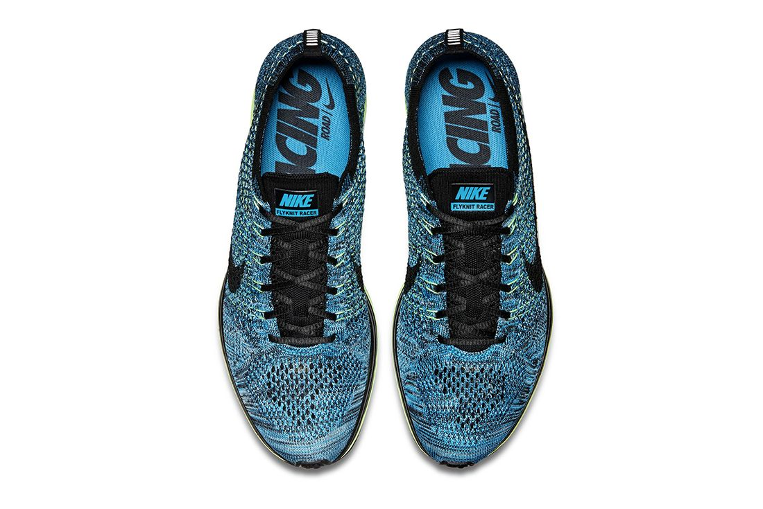 Nike Reissues The Blue Gecko Flyknit Racer 2