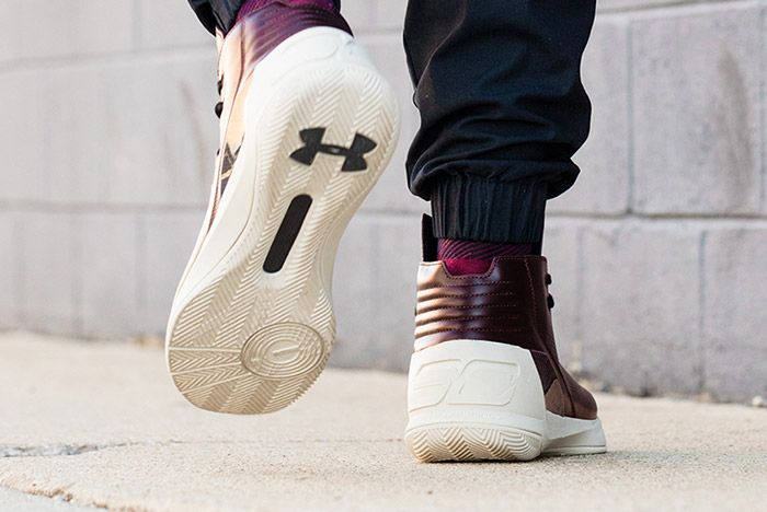 Under Armour Curry Lux Oxblood 7