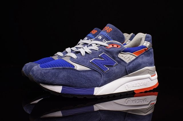 Nb 998 Steel Blue Orange 21