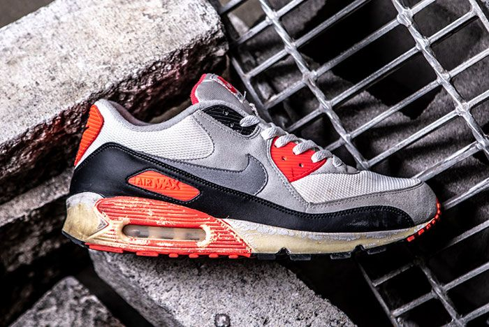 Nike Air Max 90 Infrared Retro Lateral