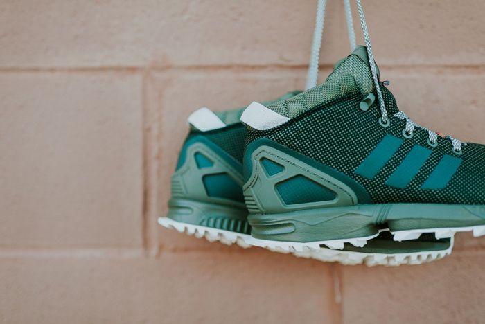 Adidas Zx Flux 58 Tr Green 1