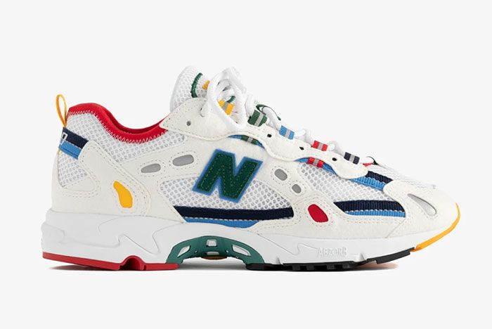 Ald Aime Leon Dore New Balance 827 Abzorb White Official
