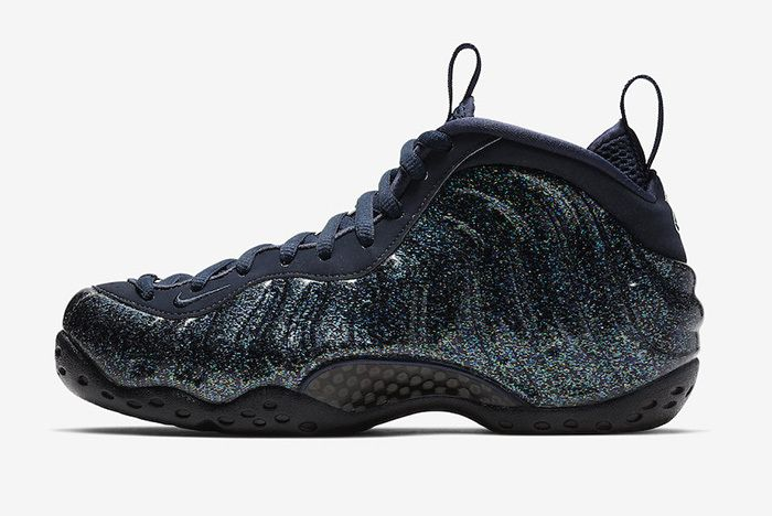 Nike Air Foamposite One Obsidian Glitter 2