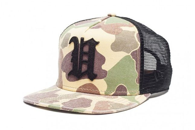 Undefeated Ss13 Washedcamo Trucker 1