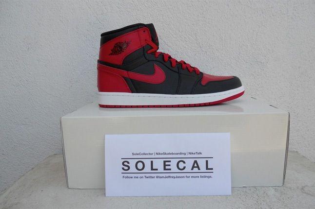 Air Jordan 1 Red Black 2