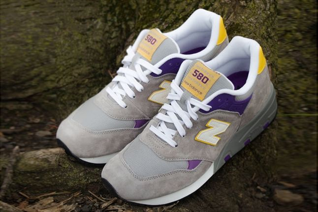 New Balance 580 Lalakers Front Quarter 1