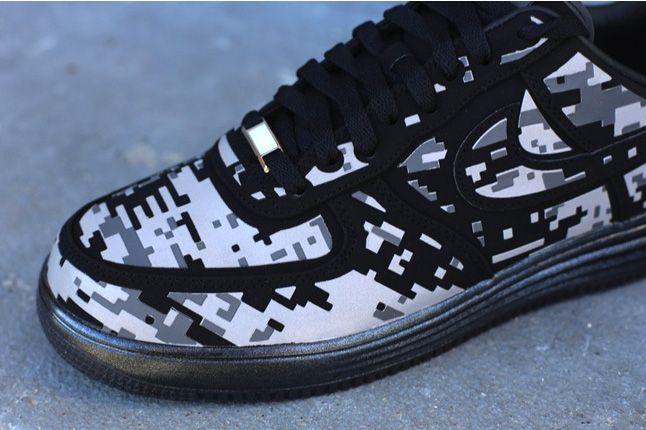Nike Lunar Force 1 Digi Camo Toe Quater 1