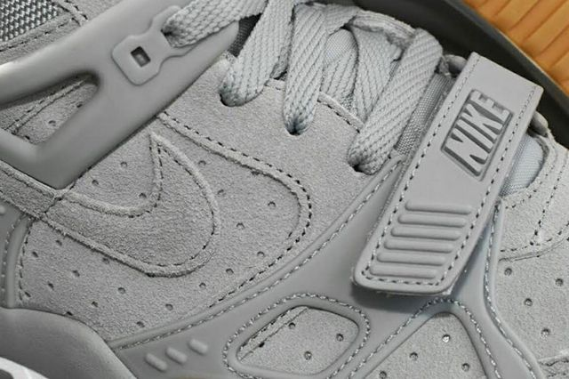 Nike Air Trainer 3 Grey Suede Gum 1