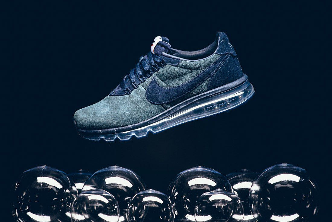 Nike Ld Zero Suede Navy Blue 1