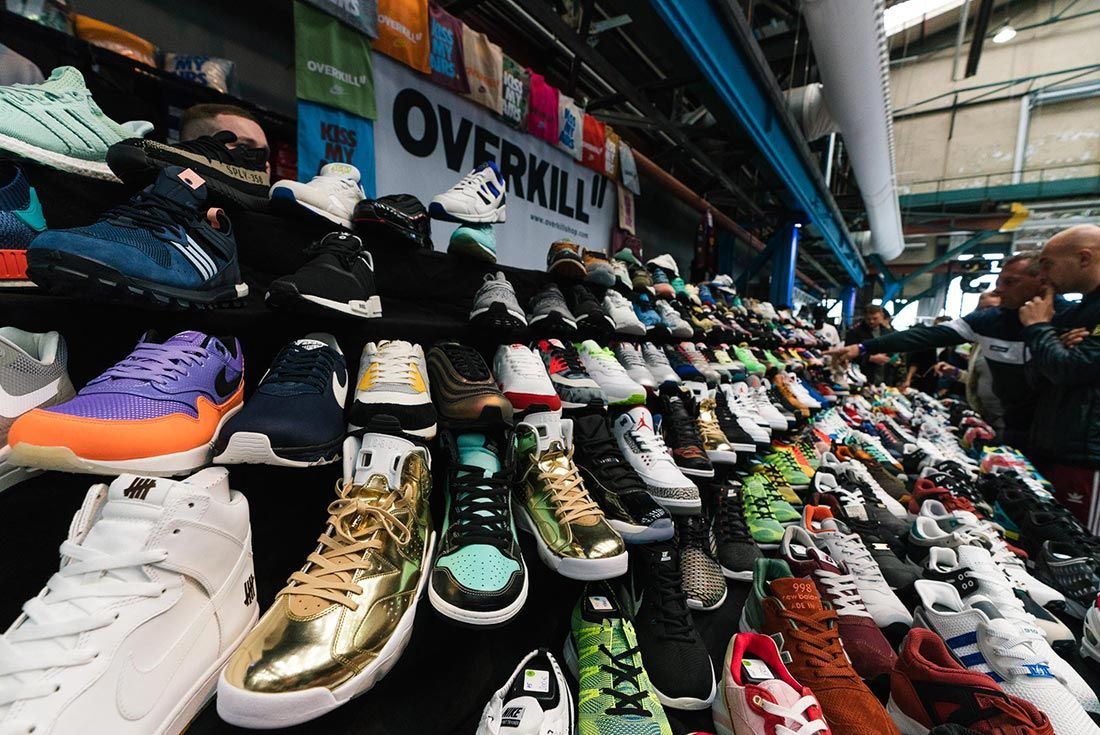 Sneakerness Amsterdam Shoes Left