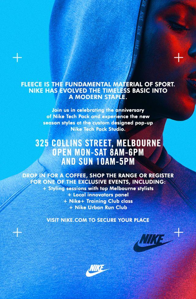 Nike Tech Pack Studio Hitting Melbourne