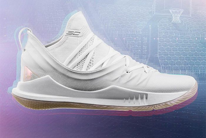 Under Armour Curry 5 Parade White 1 Sneaker Freaker