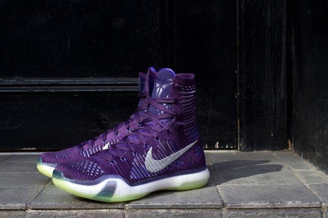 Nike Kobe X Elite Persian Violet Bumperoo 5