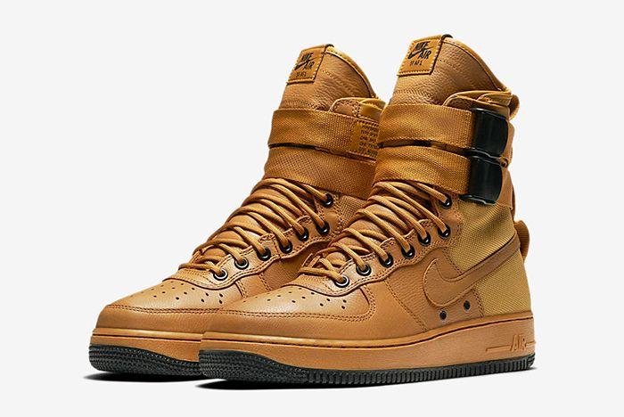 Nike Sf Air Force 1 Wmns Desert Ochre10
