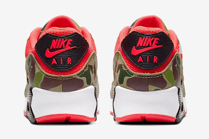 Nike Air Max 90 Reverse Duck Camo Cw6024 600 Release Date Price 5 Official