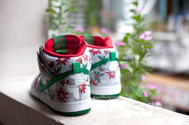 Concepts Nike Sb Dunk High Premium Ugly Christmas Sweater 6