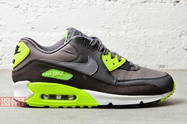 Nike Air Max 90 Essential Cool Grey Volt 3