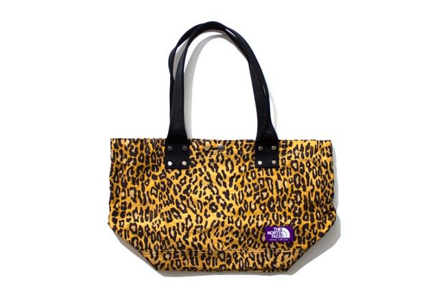 The North Face Purple Label Leopard Print Collection 2013 Totebag 1