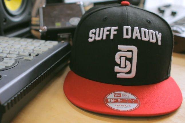 Suff Daddy New Era Red Black 1