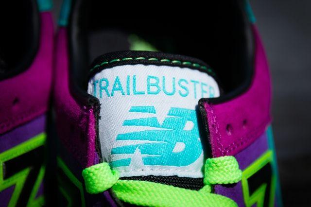 New Balance Trailerbuster Purple Teal 3