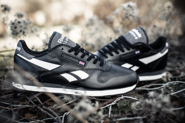 Reebok Classic Leather Sc Black White 1