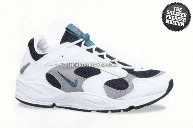 Nike Air Structure Triax 1996 Deep Emerald White 1