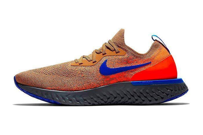 Nike Epic React Flyknit Golden Beige 1