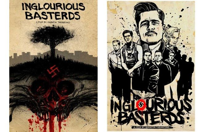 Upper Playground Quentin Tarantino Inglorious Basterds Prints 2 1