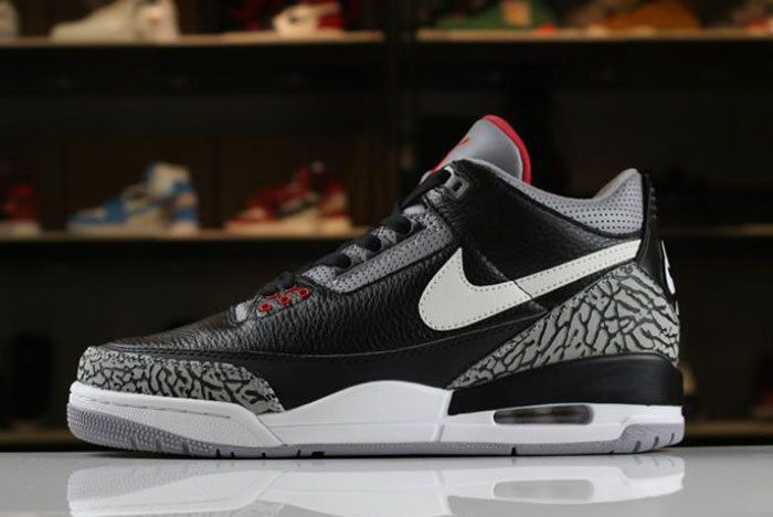 Air Jordan 3 Jth Black Cement