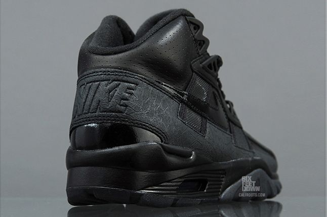 Nike Air Trainer Sc High Black Grey Heel Detail 1