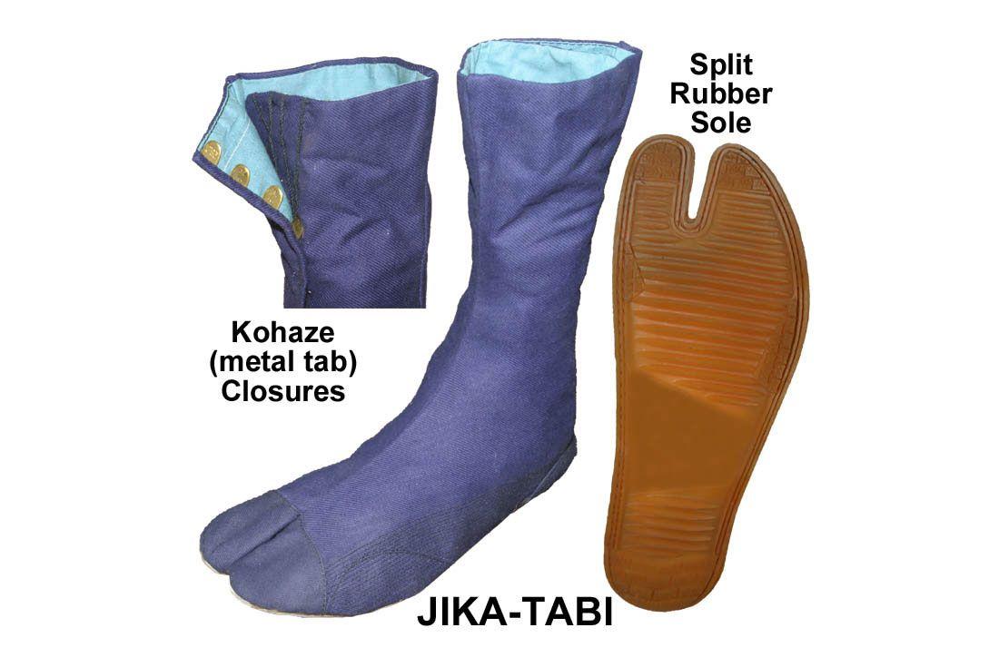 Jika-Tabi Japanese Work Boots