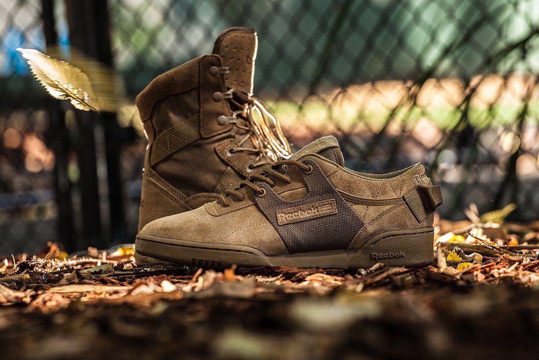 Mita Sneakers X Reebok Workout Low Clean Boot Camp2