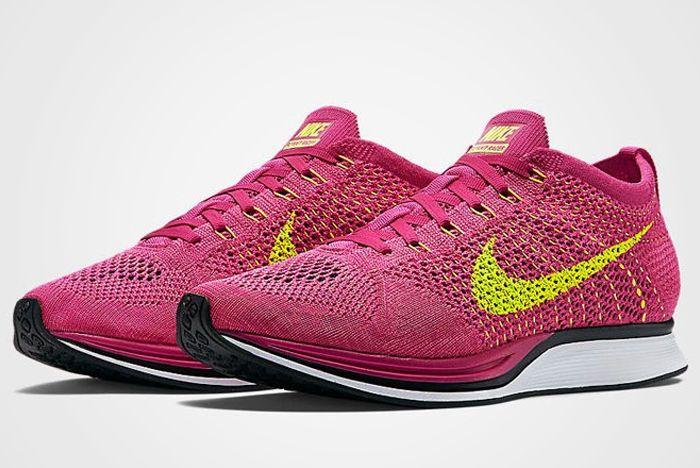 Nike Flyknit Racer Fireberry 6