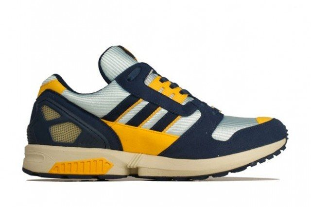 Adidas Zx 8000 Yellow Navy Profile 1 640X426