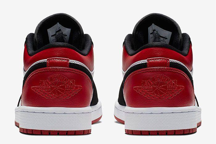 Air Jordan 1 Low Black Toe 553558 116 5