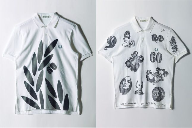 Fred Perry 60 Years Celebrations Split 4 1