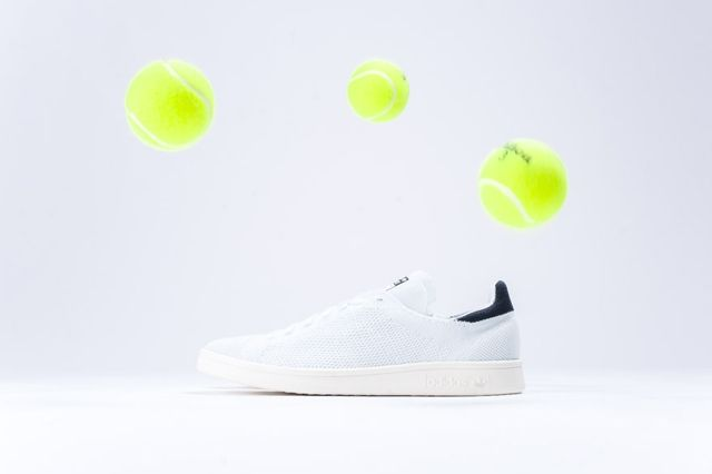 Adidas Stan Smith Primeknit White Black 5