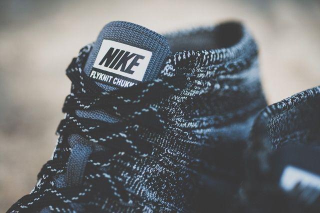 Nike Free Flyknit Chukka Black 5