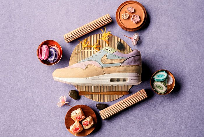 Chase Shiel Ryustyler Nike Air Max 1 Custom Wagashi Food Shot3
