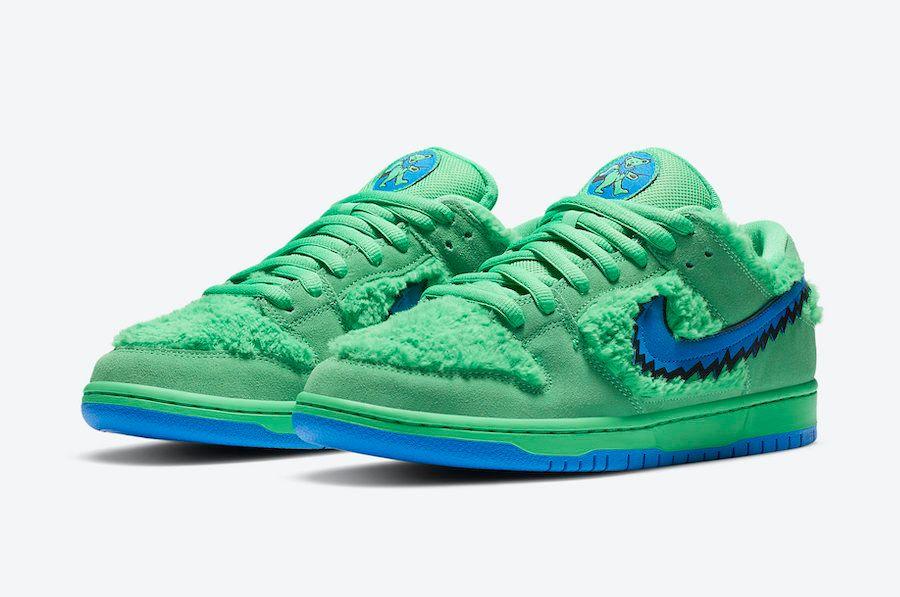 Grateful Dead x Nike SB Dunk Low (Green)