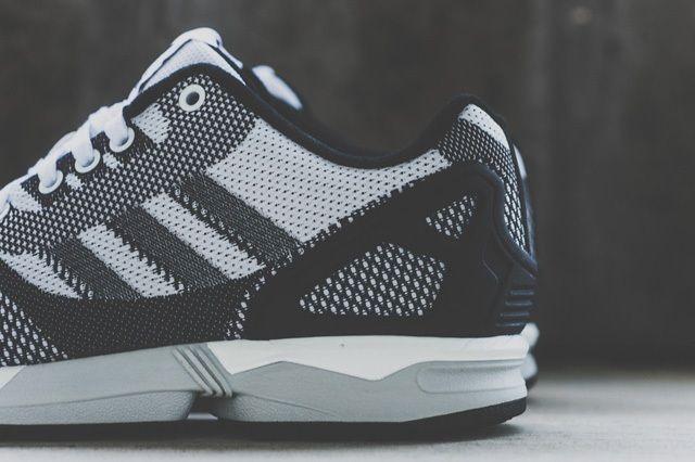 Adidas Zx Flux Weave White Black 3