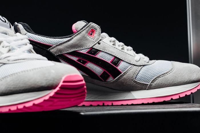 Asics Gel Respector Grey Pink Feature 3