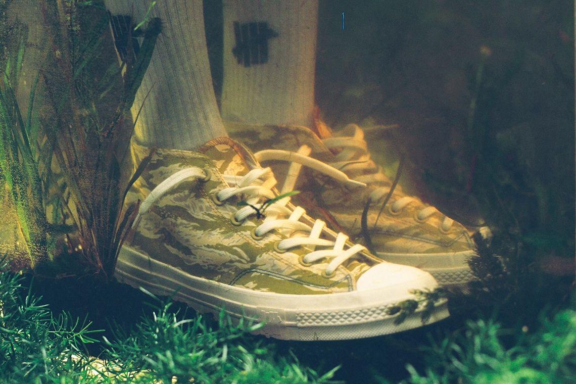 UNDEFEATED x Converse Chuck 70 Mid 'Tiger Camo'