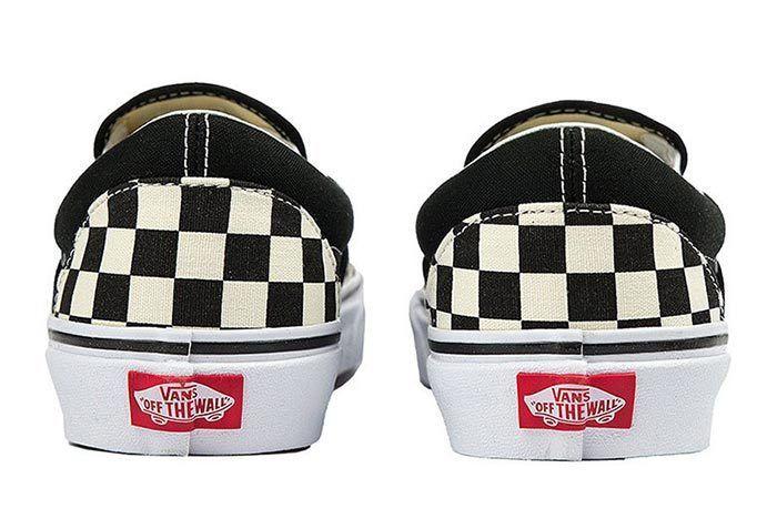 Vans Slip On Checkerboard Rose 3