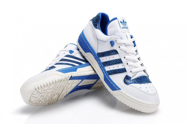 Blue Adidas Rivalry Lo Limited Edition Pair 1
